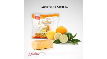 Torroncini teneri siciliani aromatizzati agli agrumi