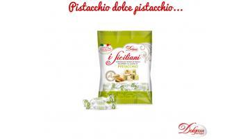 Torroncini teneri siciliani aromatizzati al pistacchio