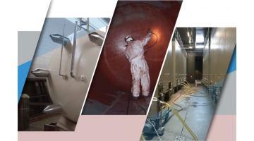 Verniciature, rivestimenti e manutenzioni per settore vinicolo