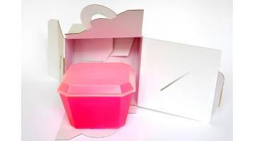 Sistema d'asporto vaschette gelato
