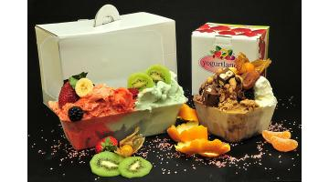 Vaschette per asporto gelato