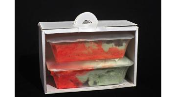 Vaschette e cartone per asporto gelato