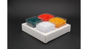 Vassoio con coppette gelato monoporzione