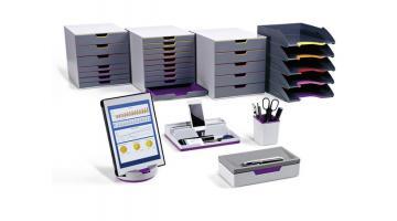 Accessori colorati da scrivania di design durable