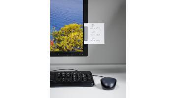 Clip adesiva per promemoria ufficio