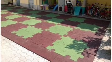 Pavimenti antitrauma da esterni