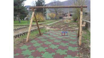 Pavimenti antitrauma per parchi bambini