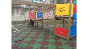 Pavimenti antitrauma per parchi gioco