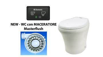 Cassette wc con maceratore