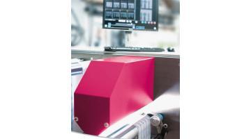 Ispezione in linea qualità stampa packaging