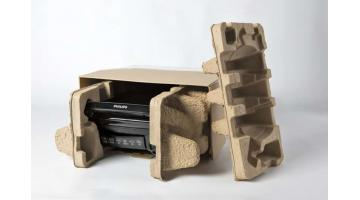Cellulose packaging for electronic products