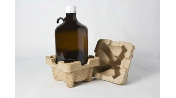 protective packaging made of cellulose for chemical industry