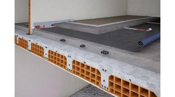 Insulating products flooring