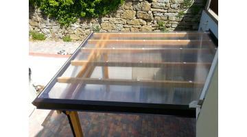 Tettoie in legno personalizzate euroavi for Tettoie in plexiglass brico