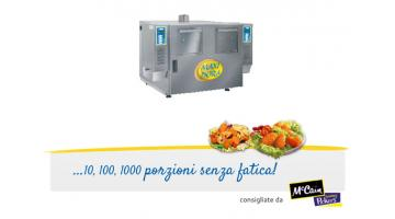 Automatic fryer double tank