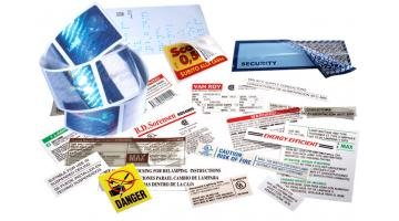 Coupon and multipage labels