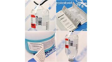 Etichette hanger e twin label