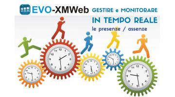 Soluzioni per gestione presenze del personale EVO-XMWeb