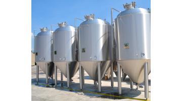 Fermentatori per birra da 40 ettolitri