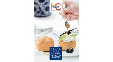 Professional courses for gelato and pastry