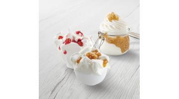 Variegates for homemade ice cream