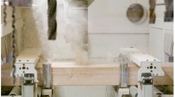 Lavorazioni speciali travi in legno