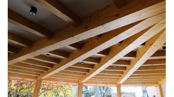 Copertura In Legno Lamellare : Progettazione coperture in legno lamellare fanti legnami