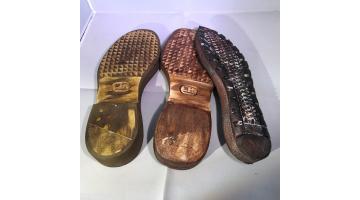 Suole in microlite per calzature uomo