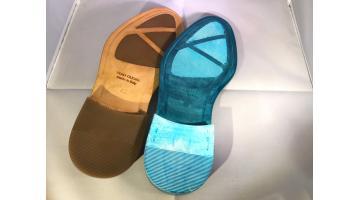 Suole stampate per calzature