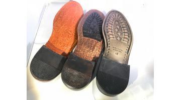 Suole stampate per calzature uomo