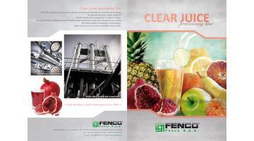 Linee complete produzione succo limpido Fenco