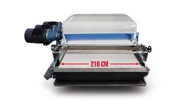 Cutting machine for big sizes