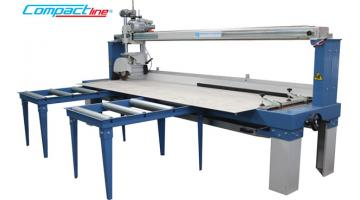 System for cutting tiles in big sizes