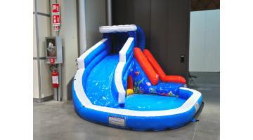 Giochi gonfiabili per bambini da esterno festopolis - Scivoli da esterno per bambini ...