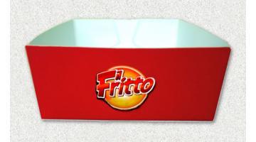 Imballi in cartone per fritture fast food