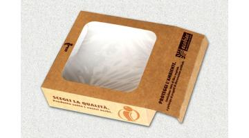 Imballi in cartone ecologico e riciclabile per gastronomia