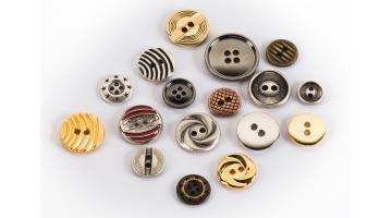 Produzione bottoni per abbigliamento