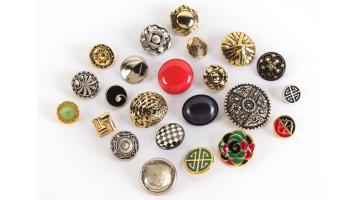 Produzione bottoni per capi di abbigliamento