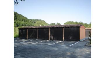 Garage prefabbricati coibentati multipli