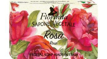 Rose vegetable soap