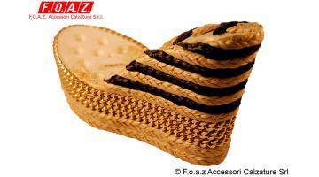 Fasciatura zeppe per scarpe