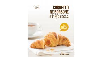 Cornetto Re Borbone all'albicocca