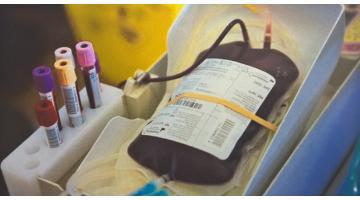 Etichette sacche di sangue