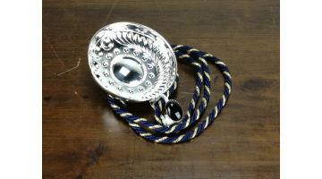 Assaggiavino in argento artigianale