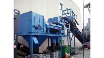 Индукционный сепаратор для цветных металлов