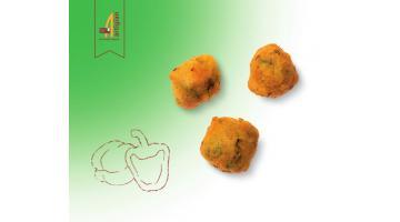Frittelle ai peperoni surgelate