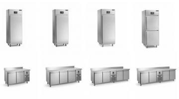 Armadi e tavoli refrigerati per pasticceria