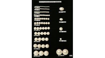 Perle in plastica colore ghiaccio