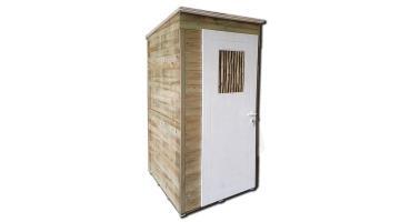 Cabina da spiaggia in legno