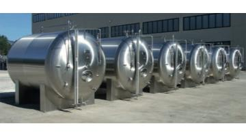 Sparkling stainless steel autoclave